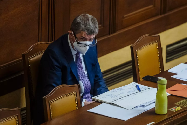Premiér před projednáním nouzového stavu, foto: Profimedia